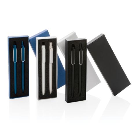 Parure stylos personnalisés à encre glissante X6