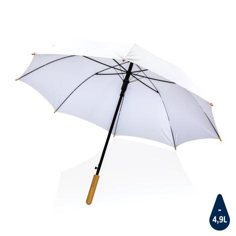 Parapluie rPET et bambou personnalisé Impact