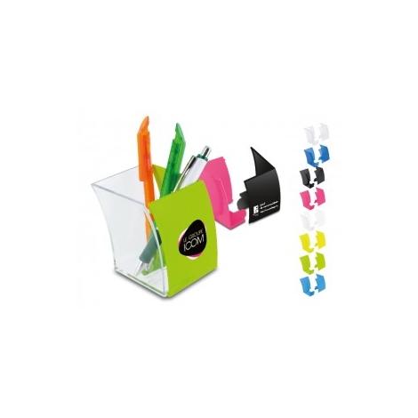 Pot à crayons publicitaire - Cristal