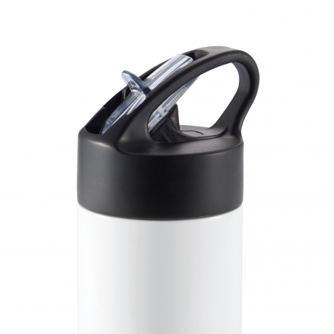 Bouteille d'eau avec paille publicitaire 450 ml - SPORT