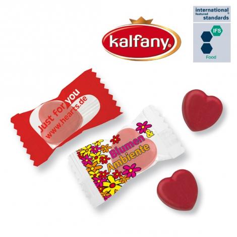 Bonbons en forme de cœur