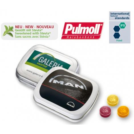 Mini boîte à pastilles publicitaire