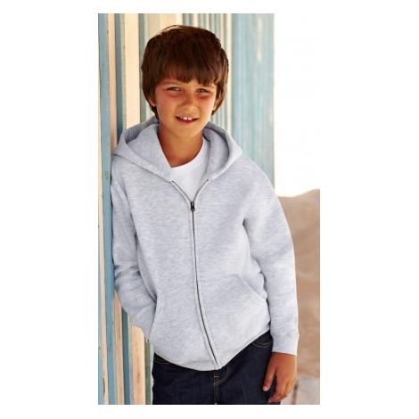 Veste zippée publicitaire pour enfant 280 gr - Premium