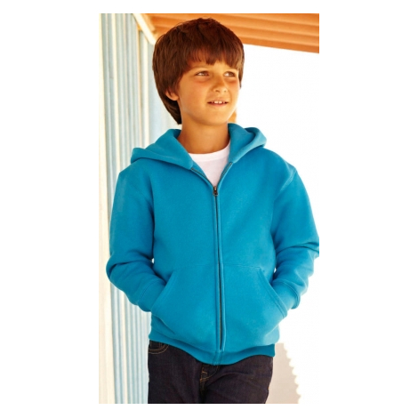 Veste zippée capuche Enfant Fil Belcoro