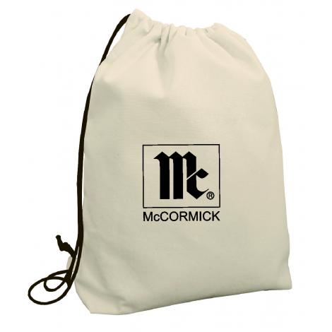 Gym bag publicitaire en coton 150 g à 300 gr