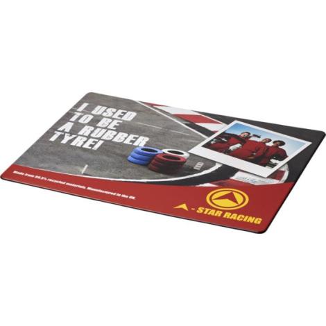 Tapis de souris publicitaire en pneu recyclé