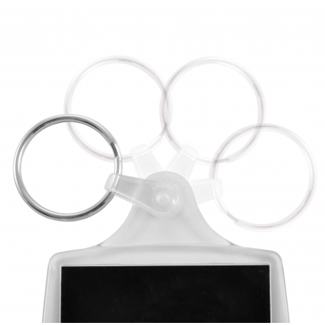 Porte-clés publicitaire - P6 Lita
