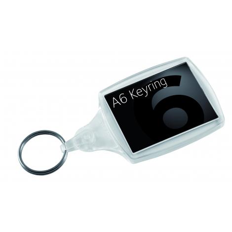 Porte-clés publicitaire A5 et A6