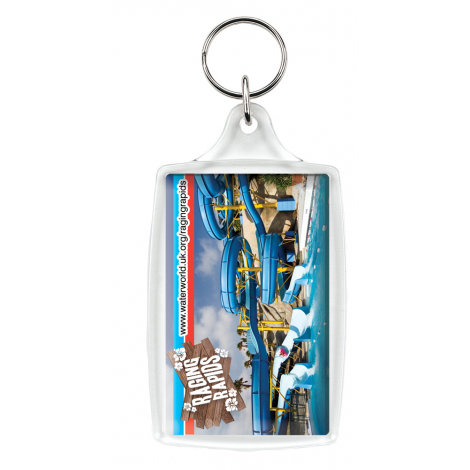 Porte-clés publicitaire large L4 et L6