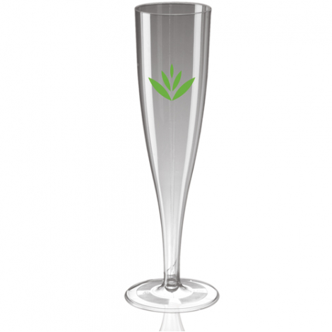 Flûte à champagne en plastique jetable 18 cl
