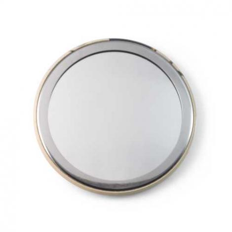 Miroir de poche publicitaire - rond