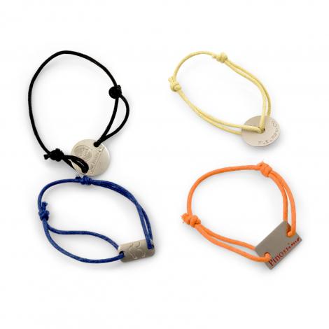 Bracelet Brésilien publicitaire en métal