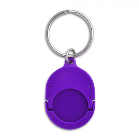Porte-clés jeton en métal