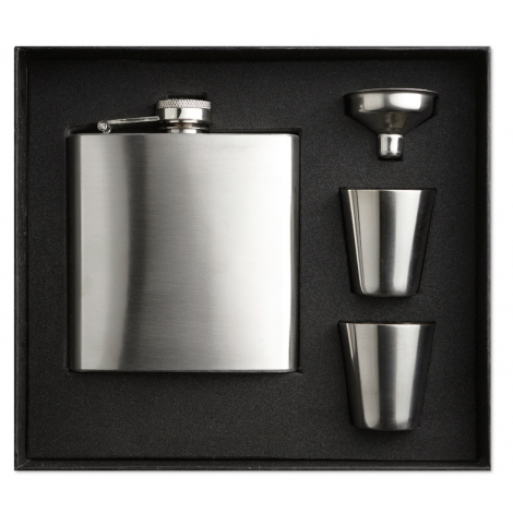 Flask publicitaire -Slimmy flask set
