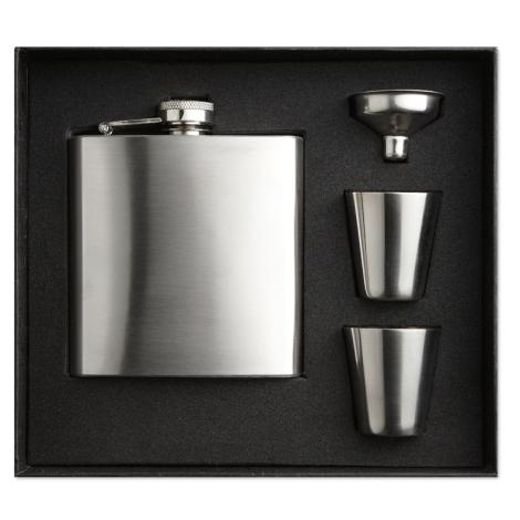 Flask publicitaire -Slimmy flask set
