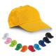 Casquette publicitaire en coton - Velcro reglable