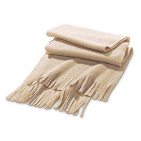 Echarpe en tissu polaire