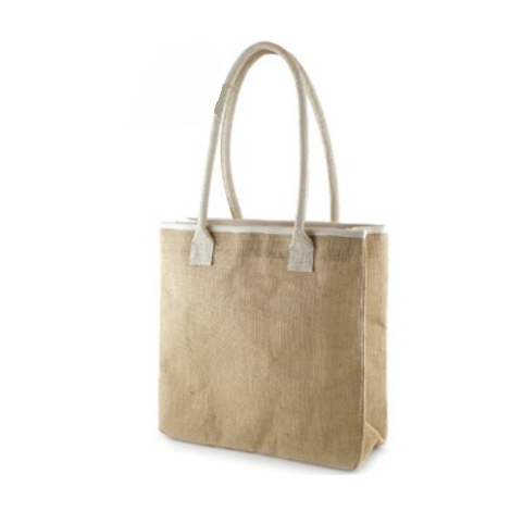 Sac shopping promotionnel en jute - FUMI