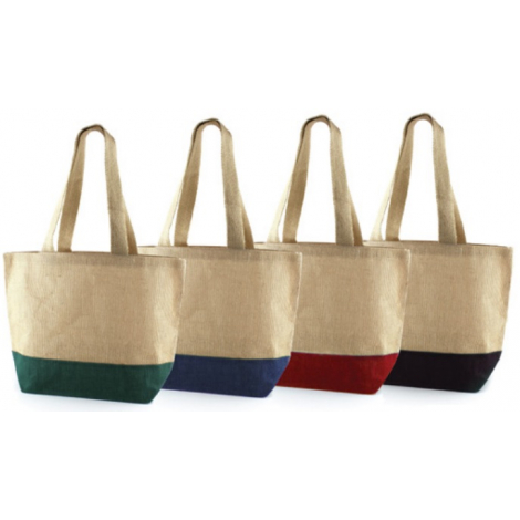 Sac shopping promotionnel en jute - DUBU
