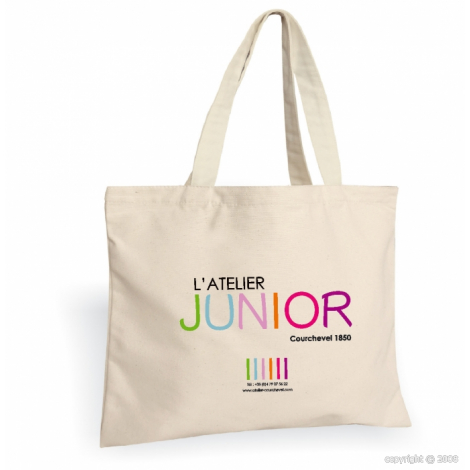 Tote bag personnalisable coton 150 g à 400 gr