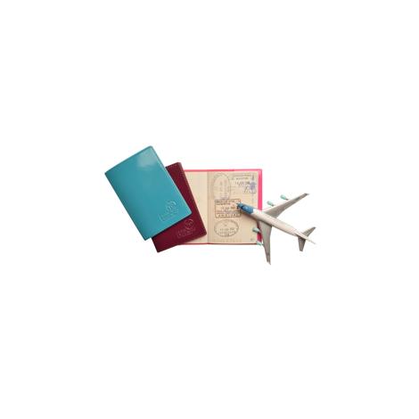 Protège passeport publicitaire cousu