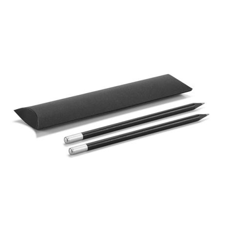 Kit publicitaire de 2 crayons à papier - noir