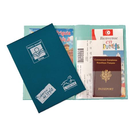 Pochette voyage publicitaire - Fly