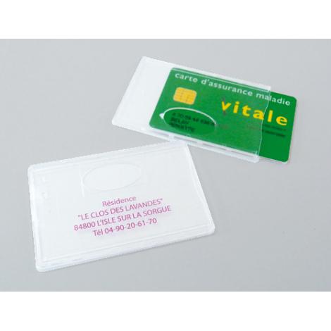 Protège carte rigide