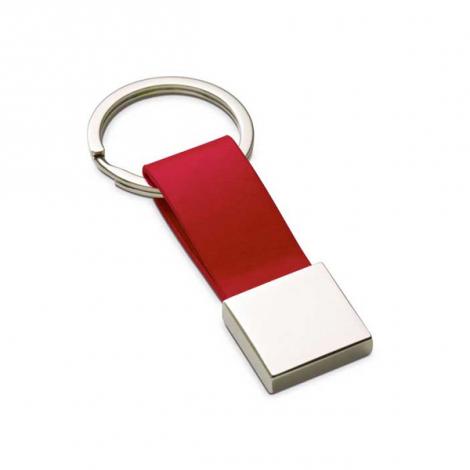 Porte-clés Simili cuir et métal