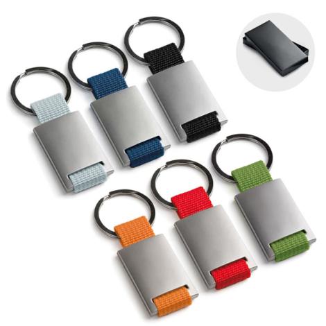 Porte-clés en métal personnalisable