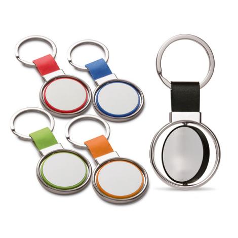Porte-clés rotatif à personnaliser
