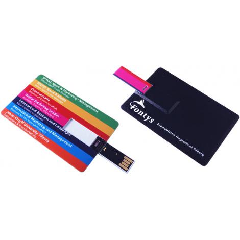 Clé USB publicitaire - Credit card