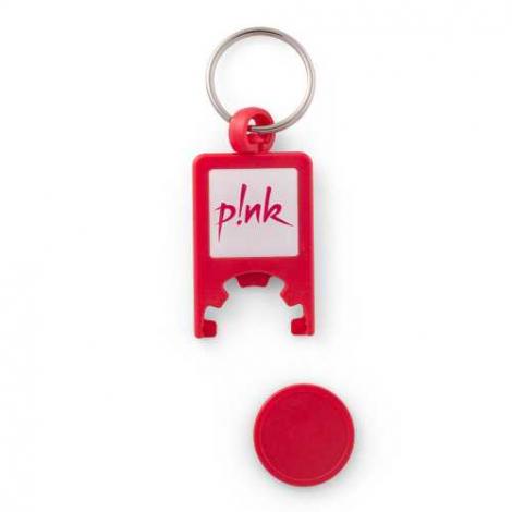Porte-clés avec jeton personnalisé