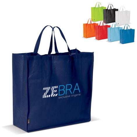 Sac shopping publicitaire non tissé 75 gr/m²