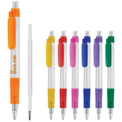 Stylo bille biodégradable Vegetal Pen Clear