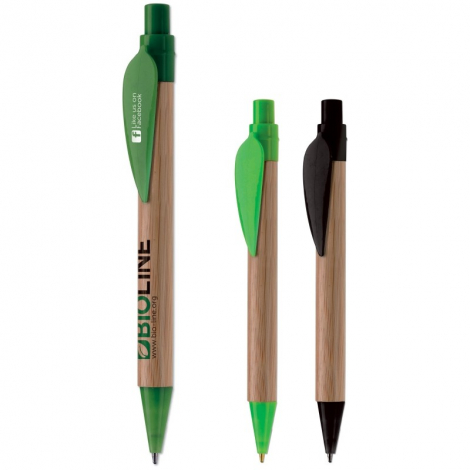 Stylo bille publicitaire - Eco leaf Pen