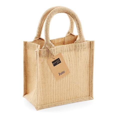 Sac en jute personnalisable - Petite Gift Bag