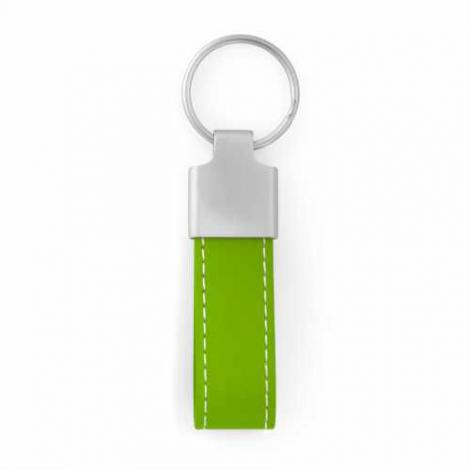 Porte-clés PLAZZA - simili cuir et zamac