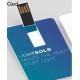 Clé USB carte de crédit personnalisable
