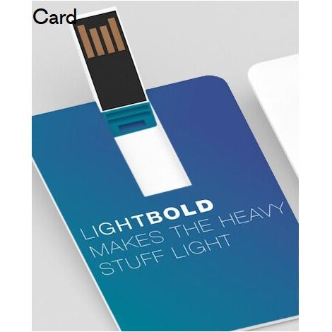 Clé USB  avec logo color Card personnalisable