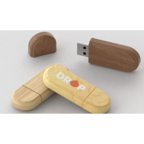 Clé USB publicitaire en bois Limb