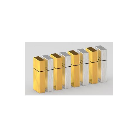 Clé USB plate publicitaire Vortex