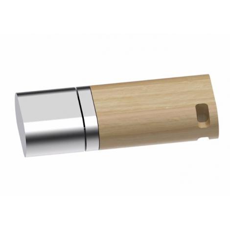 Clé USB publicitaire bois - Duo