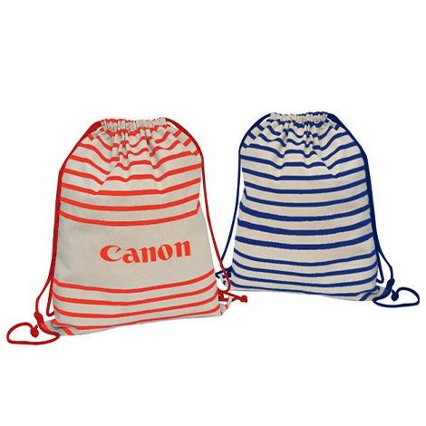 Gym bag en coton personnalisable