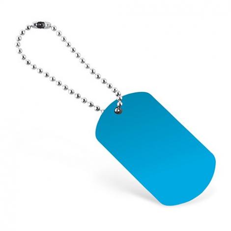 Porte-clés publicitaire plaque GI