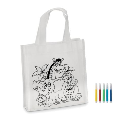 Mini sac à colorier SHOOPIE