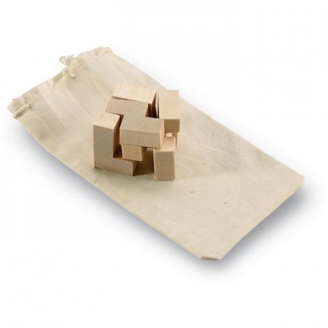 Petit puzzle publicitaire en bois - TRIKESNATS