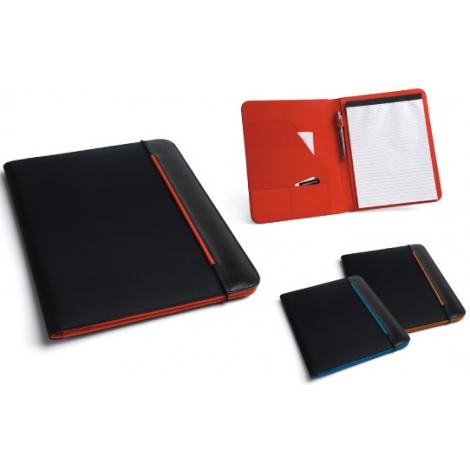 Conférencier publicitaire - A4 en simili-cuir et nylon 800D