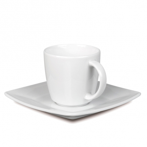 Tasse et soucoupe publicitaire 80 ml - Maxim Espresso