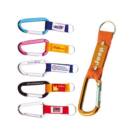 Porte-clés publicitaire - carabiner